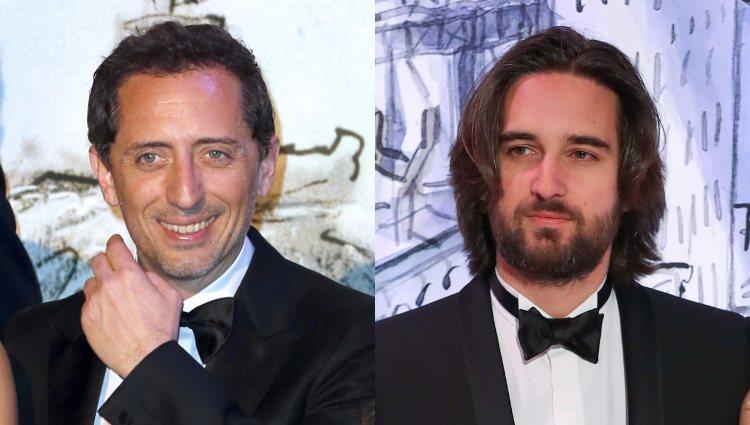 Dos de las últimas parejas de Carlota Casiraghi: el actor Gad Elmaleh y el productor Dimitri Rassam