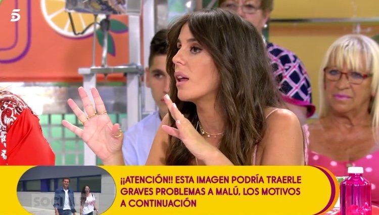 Anabel Pantoja hablando de su posible participación en 'GH VIP 7' / Telecinco.es