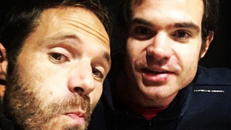 Mikel y Jon Alonso, a falta de la compañía de Xabi Alonso
