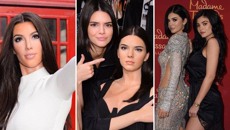 Las figuras de cera de Kim, Kendall y Kylie en Madame Tussauds