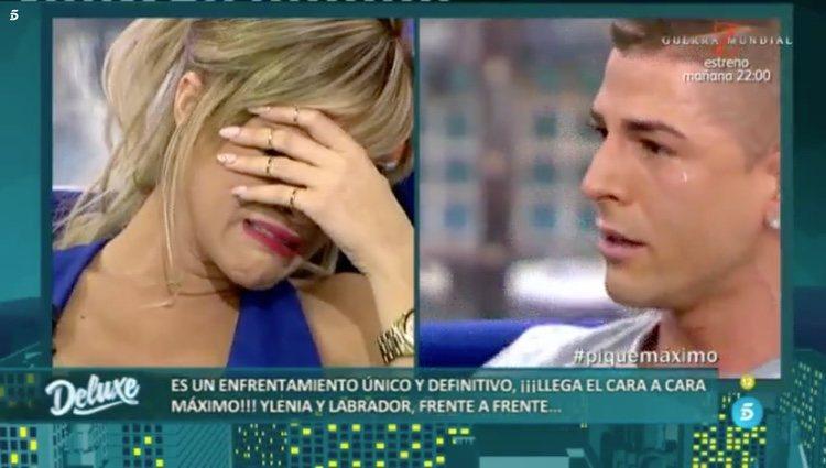 Ylenia Padilla y Labrador rotos de dolor en 'Sábado Deluxe' / Telecinco.es