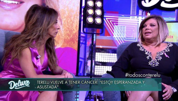 Terelu Campos se derrumbó en el plató al hablar de su enfermedad / Telecinco.es