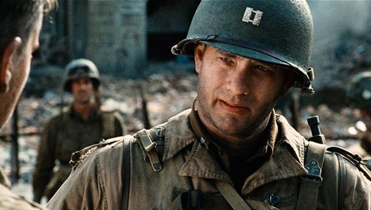 Tom Hanks en 'Salvar al soldado Ryan'