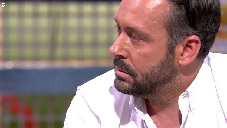 Calleja no pudo contener las lágrimas ante las palabras de Terelu / Telecinco.es