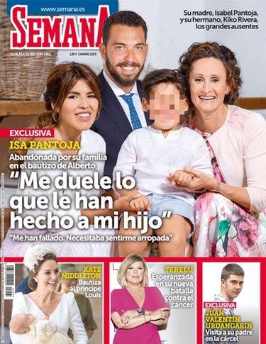 La portada de Chabelita Pantoja por el bautizo