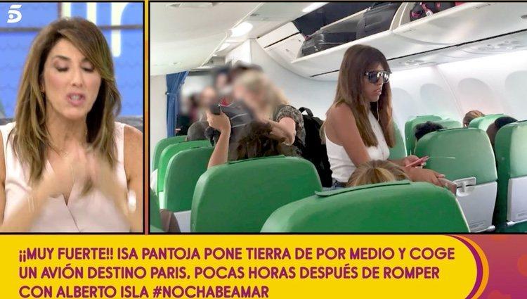 Chabelita rumbo a París / Foto: telecinco.es