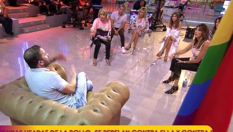 Antonio Tejado sometiéndose al tercer grado / Foto: Telecinco.es
