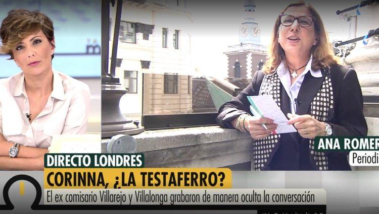 La periodista Ana Romero en el programa 'Ya es mediodía'