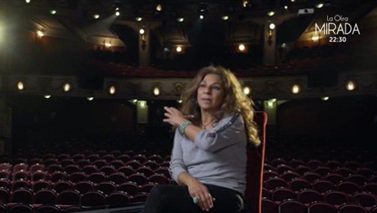 Lolita Flores hablando en 'Lazos de Sangre' / Foto: TVE