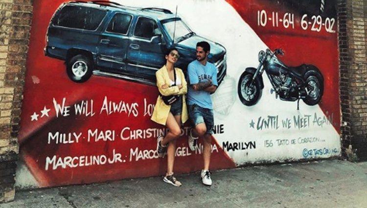 Isco y Sara en una calle de Nueva York | Fuente: Instagram Sara Sálamo