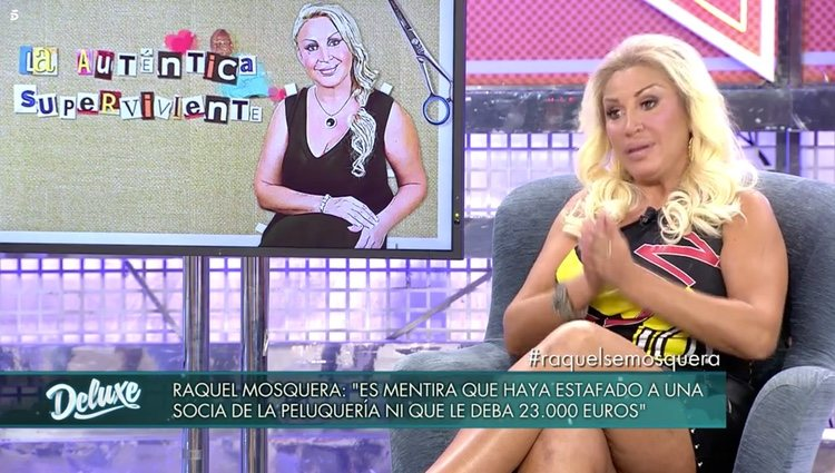 Raquel Mosquera desmiente la polémica de la supuesta exsocia / Fuente: telecinco.es