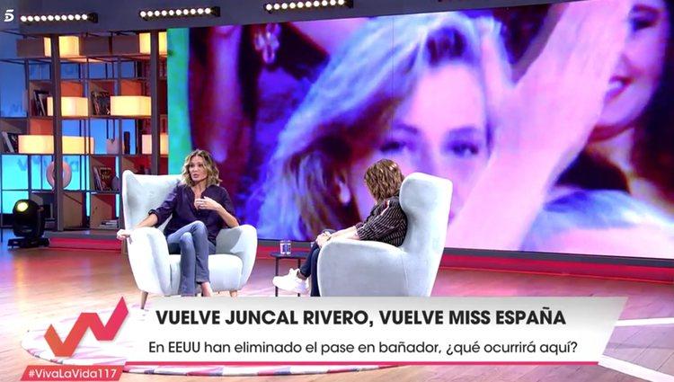 Toñi Moreno intentó solucionar rápido la situación </p><p> / Telecinco.es