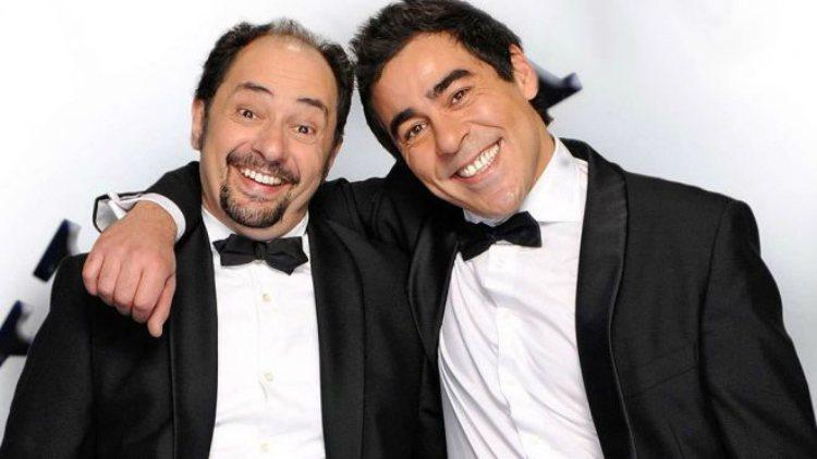 Jordi Sánchez) y Pablo Chiapella en la serie de Telecinco 'La que se avecina'