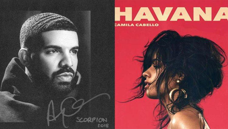 Drake y Camila Cabello, dos súperventas gracias a sus nuevos discos