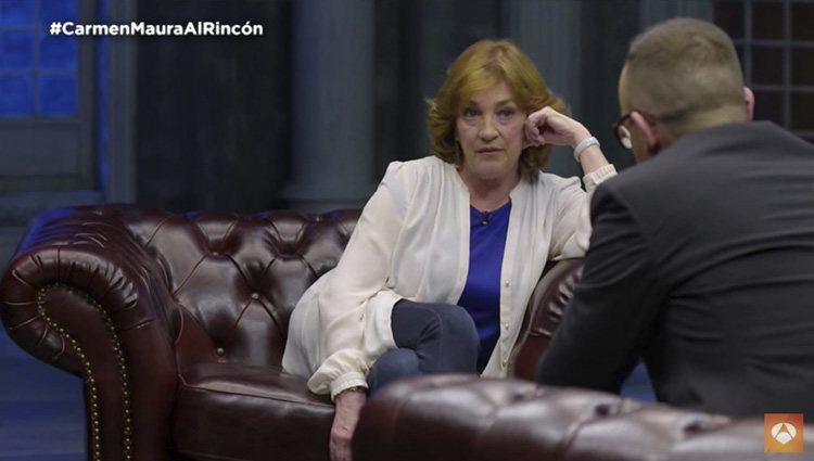 Carmen Maura habla de su relación con Almodóvar en 'Al rincón de pensar' | Foto: Antena3.com