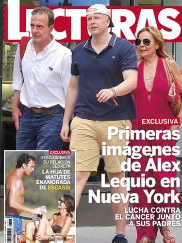 Álex Lequio pasea con sus padres por Nueva York/Fuente:Lecturas