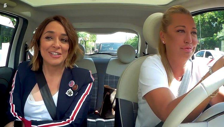 Toñi Moreno y Belén Esteban en 'Belén a bordo' / Telecinco.es