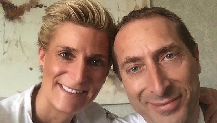 Alfonso Zurita mantiene una excelente relación con su hermana/Fuente:Instagram