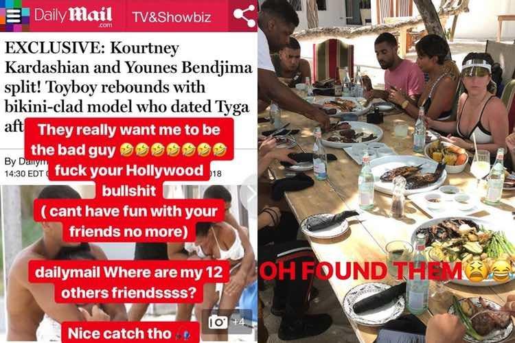 Younes Bendjima desmiente lo publicado sobre su nueva conquista / Instagram
