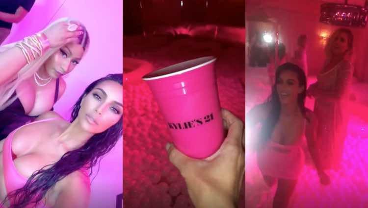 Así documentó Kim Kardashian la noche / Instagram
