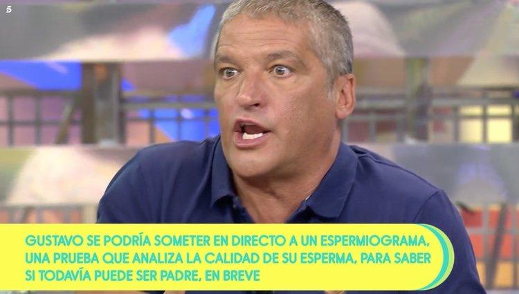 Gustavo González se defiende de los ataques de Mila Ximénez en 'Sálvame' / Telecinco.es