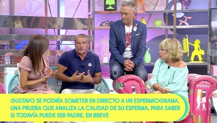 Mila Ximénez discute con Gustavo González en 'Sávame' / Telecinco.es