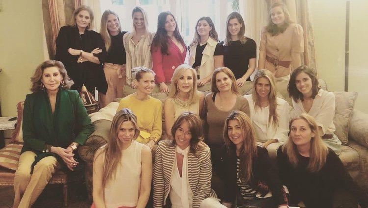 Fiesta baby shower de Olivia de Borbón / Instagram de