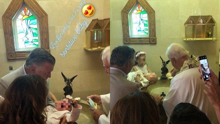Primero fue bautizado Leonardo y luego Romeo / Foto: Instagram