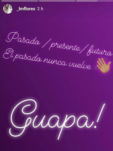 La publicación que Laura Matamoros luego eliminó de su Instagram