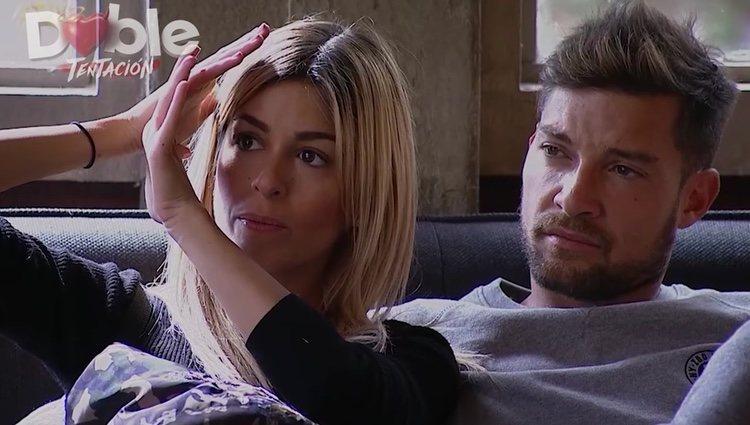 Oriana y Luis tras ser expulsados del reality / Foto: 'Doble tentación'