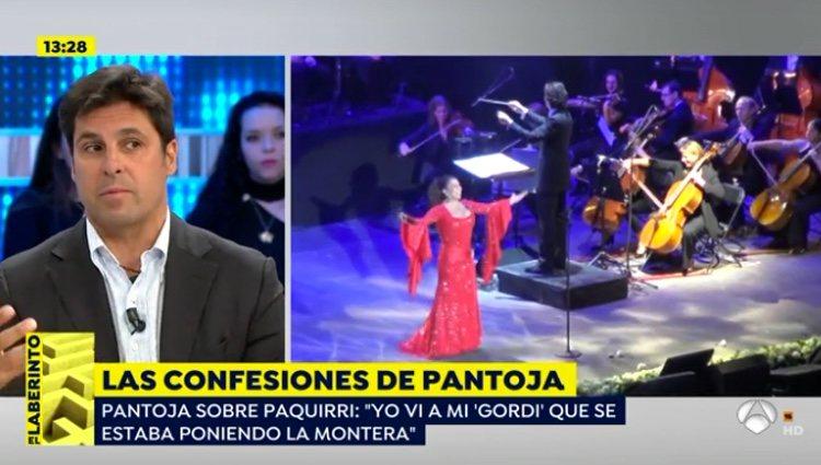 Fran Rivera comentando las palabras de Isabel Pantoja / Antena3.com