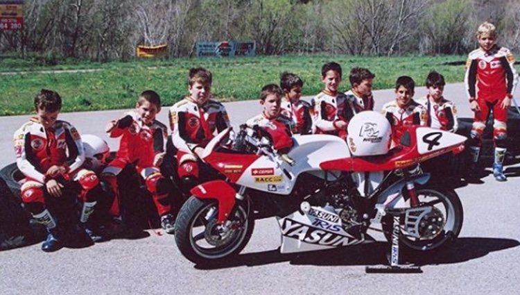 Los inicios de Pol Espargaró en las motos   Foto: Instagram Pol Espargaró