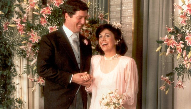 Boda del Príncipe Alejandro de Yugoslavia y Catalina Batis en 1985