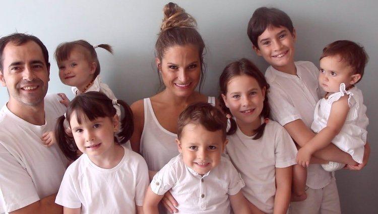 Verdeliss con toda su familia/ Foto: Instagram