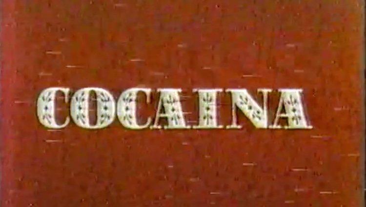 Fotograma del inicio de la película 'Cocaína' / Youtube.com