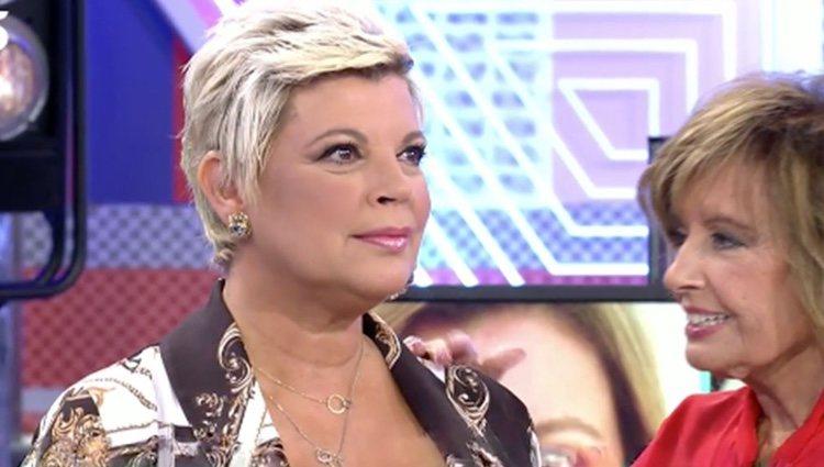 Terelu Campos tras su retoque estético / Foto: telecinco.es