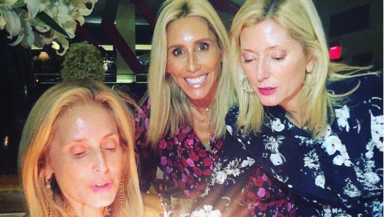 Alexandra y Marie Chantal Miller se reunieron para celebrar el cumpleaños de su hermana mayor Pia/Foto:Instagram