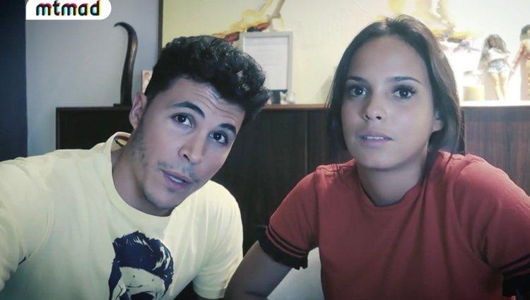 Gloria Camila y Kiko Jiménez tras gastar la broma / Foto: telecinco.es