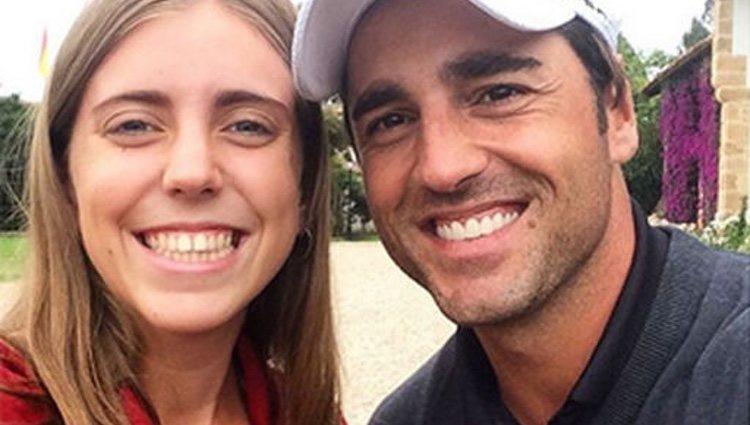 David Bustamante y Celia Barquín coincidieron en 2015/ Foto: Instagram