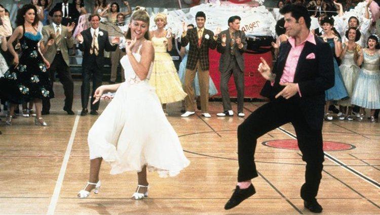 Fotograma de la película 'Grease'
