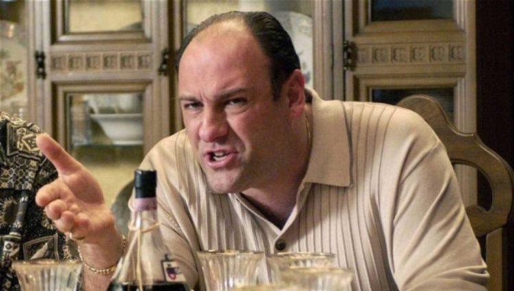 Tony en un fotograma de 'Los Soprano'