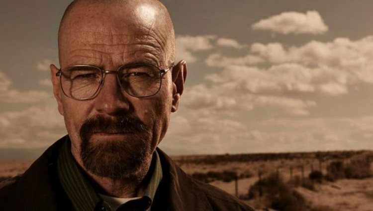 Walter Whiter en un fotograma de'Breaking Bad'