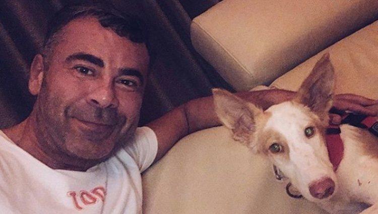 Jorge Javier Vázquez con Cata | Foto: Instagram Jorge Javier Vázquez