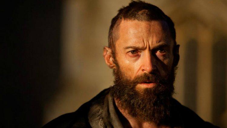 Hugh Jackman como Jean Valjean en la película 'Los Miserables'