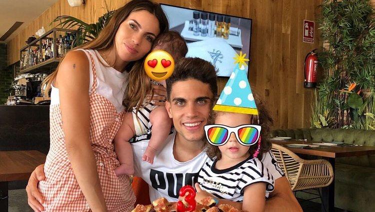 La familia Bartra Jiménez unida / Instagram