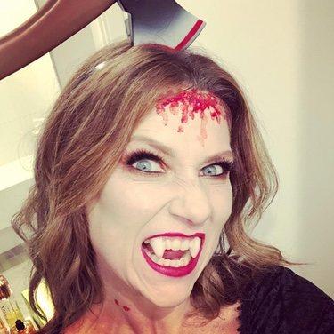 Marta Luisa de Noruega en Halloween
