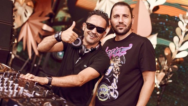 Carlos Bayona junto al DJ Dimitri Vegas | Foto: Carlos Bayona Instagram