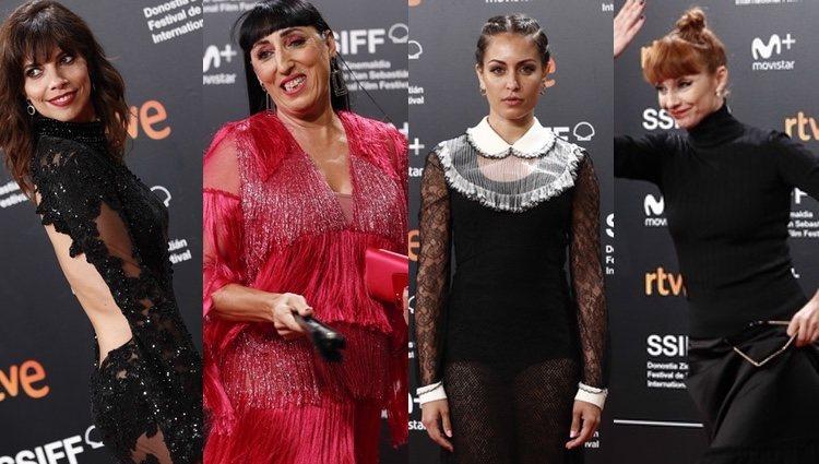 Estas cuatro actrices fueron algunas de las mejores posicionadas en cuanto a su estilismo