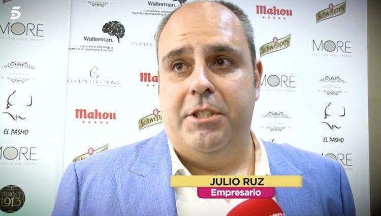 Julio Ruz ha hablado por primera vez sobre su ruptura con María Jesús Ruiz - Telecinco.es