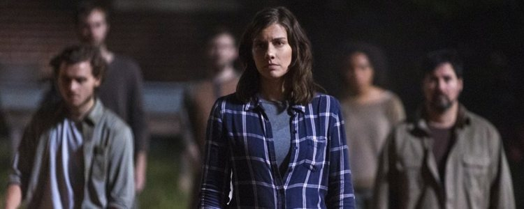Maggie, en la novena temporada de 'The Walking Dead'